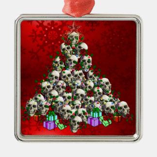 The Skulls of Christmas Christmas Ornament