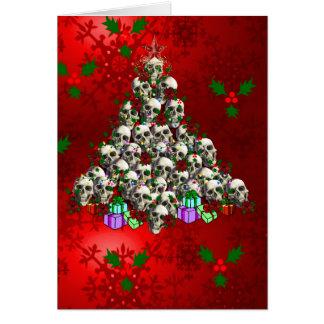 The Skulls of Christmas Greeting Card
