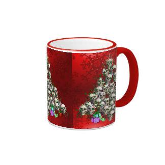 The Skulls of Christmas Mug