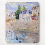 The sky in Bougival by Berthe Morisot Mouse Pad