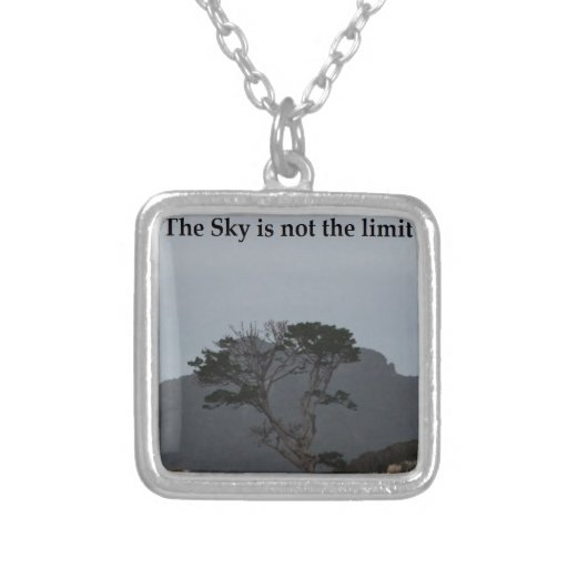 The Sky is not the limit Pendant