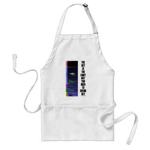 The Sky Is The Limit But You Need To Define Sky Aprons