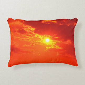 THE SKY OVER SKOPJE [ancient traditions] Decorative Cushion