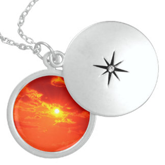 THE SKY OVER SKOPJE [ancient traditions] Sterling Silver Necklace