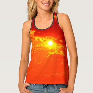 THE SKY OVER SKOPJE [ancient traditions] Tank Top