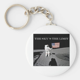 The Sky s the Limit Key Chain