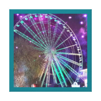 The sky wheel canvas print