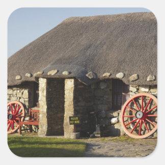 The Skye Museum of Island Life, near Duntulm, Square Sticker