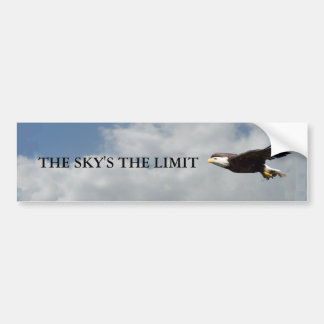 The Skys The Limit Bumper Sticker