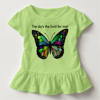 The sky's the limit for me! Design 1 Toddler T-Shirt