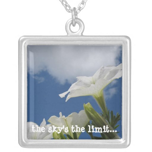 The sky's the limit necklace