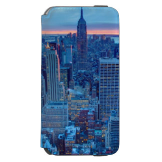 The skyscrapers of Manhattan are lit Incipio Watson™ iPhone 6 Wallet Case