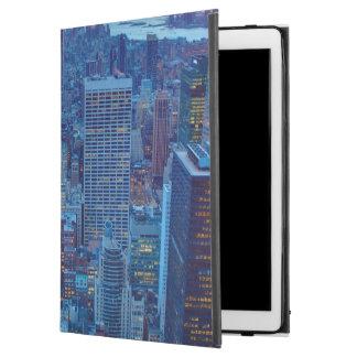 "The skyscrapers of Manhattan are lit iPad Pro 12.9"" Case"