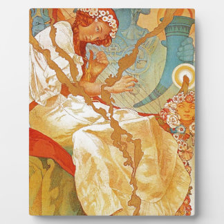 The Slav Epic by Alphonse Mucha Display Plaques