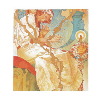 The Slav Epic by Alphonse Mucha Note Pads