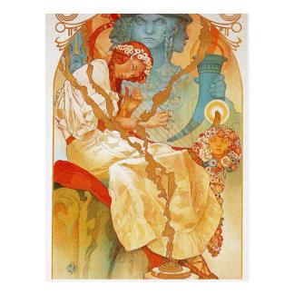The Slav Epic by Alphonse Mucha Postcard