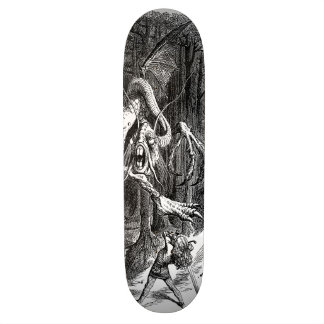 The Slaying of The Jabberwock Custom Skateboard