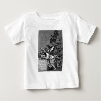 The sleep of reason produces monsters by Francisco Baby T-Shirt