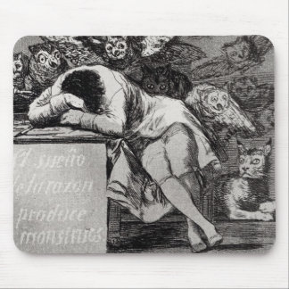 The Sleep of Reason Produces Monsters Mouse Mat