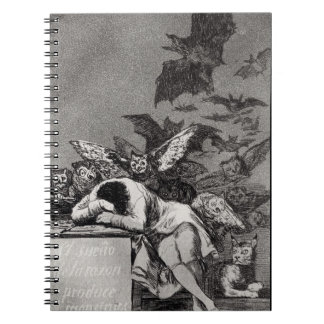 The Sleep of Reason Produces Monsters Notebook