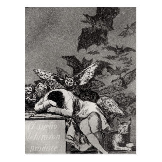 The Sleep of Reason Produces Monsters Post Card