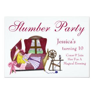 The Sleeping Beauty 13 Cm X 18 Cm Invitation Card