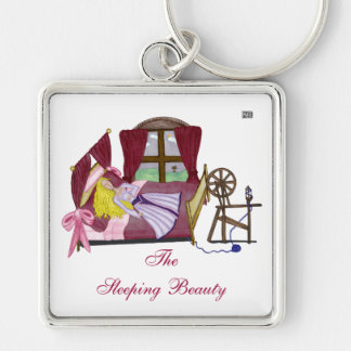 The Sleeping Beauty Keychains