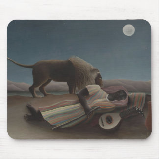 The Sleeping Gypsy by Henri Rousseau Mouse Pad