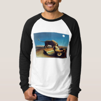 """The Sleeping Gypsy"" by Henri Rousseau T-shirts"