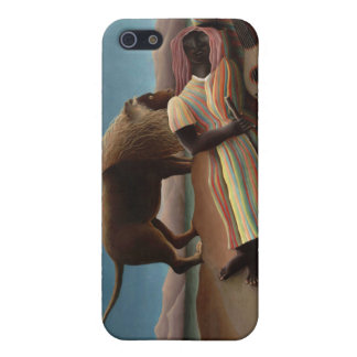 The Sleeping Gypsy, Henri Rousseau iPhone 5 Cover