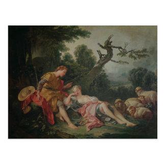 The Sleeping Shepherdess Postcard