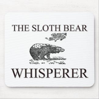 The Sloth Bear Whisperer Mouse Mat