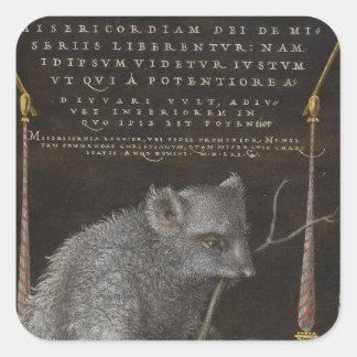 The Sloth Square Sticker