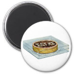 The Small Cake Said Eat Me, So Alice Did! 6 Cm Round Magnet