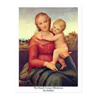 The Small Cowper Madonna By Raffael Postcard