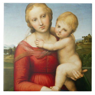 The Small Cowper Madonna, c.1505 (oil on panel) Large Square Tile