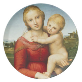 The Small Cowper Madonna, c.1505 (oil on panel) Plates
