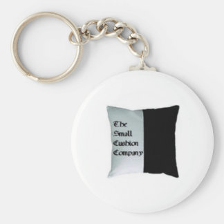 The Small Cushion Company Basic Round Button Key Ring