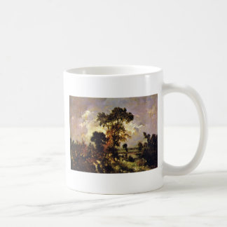 The Small Fishing By Rousseau Théodore ( Coffee Mugs