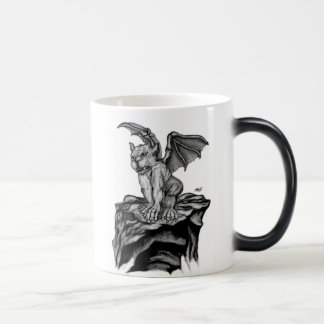 The small GOLEM - Gargoyle black knows Design Morphing Mug