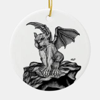 The small GOLEM Gargoyle Christmas Ornament