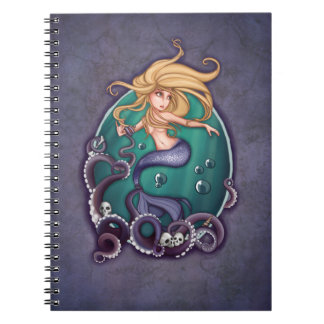 The small siren spiral note book