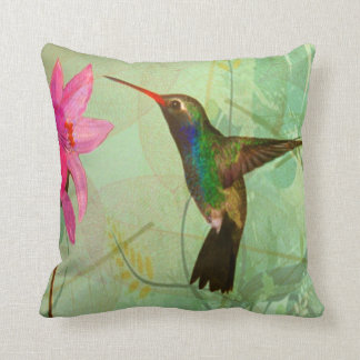 The Smallest Bird in the World Throw Pillow