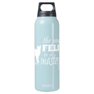 The Smallest Feline is a Masterpiece - all colours 16 Oz Insulated SIGG Thermos Water Bottle