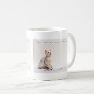 The Smallest of Cats Coffee Mug: Farrah Coffee Mug