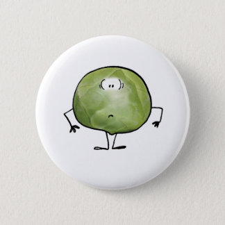 THE SMELLY SPROUT 6 CM ROUND BADGE