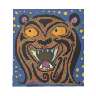 The Smile of the Tiger Notepad
