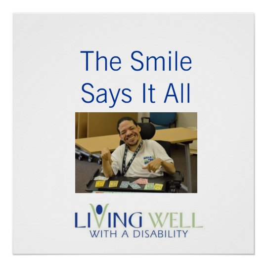 The Smile Says It All Poster