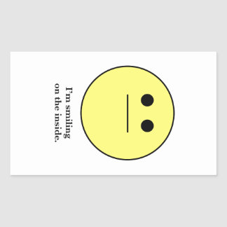 The Smily face for those who are not smiling. Stickers