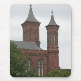 The Smithsonian Castle, Washington D.C. Mouse Pad